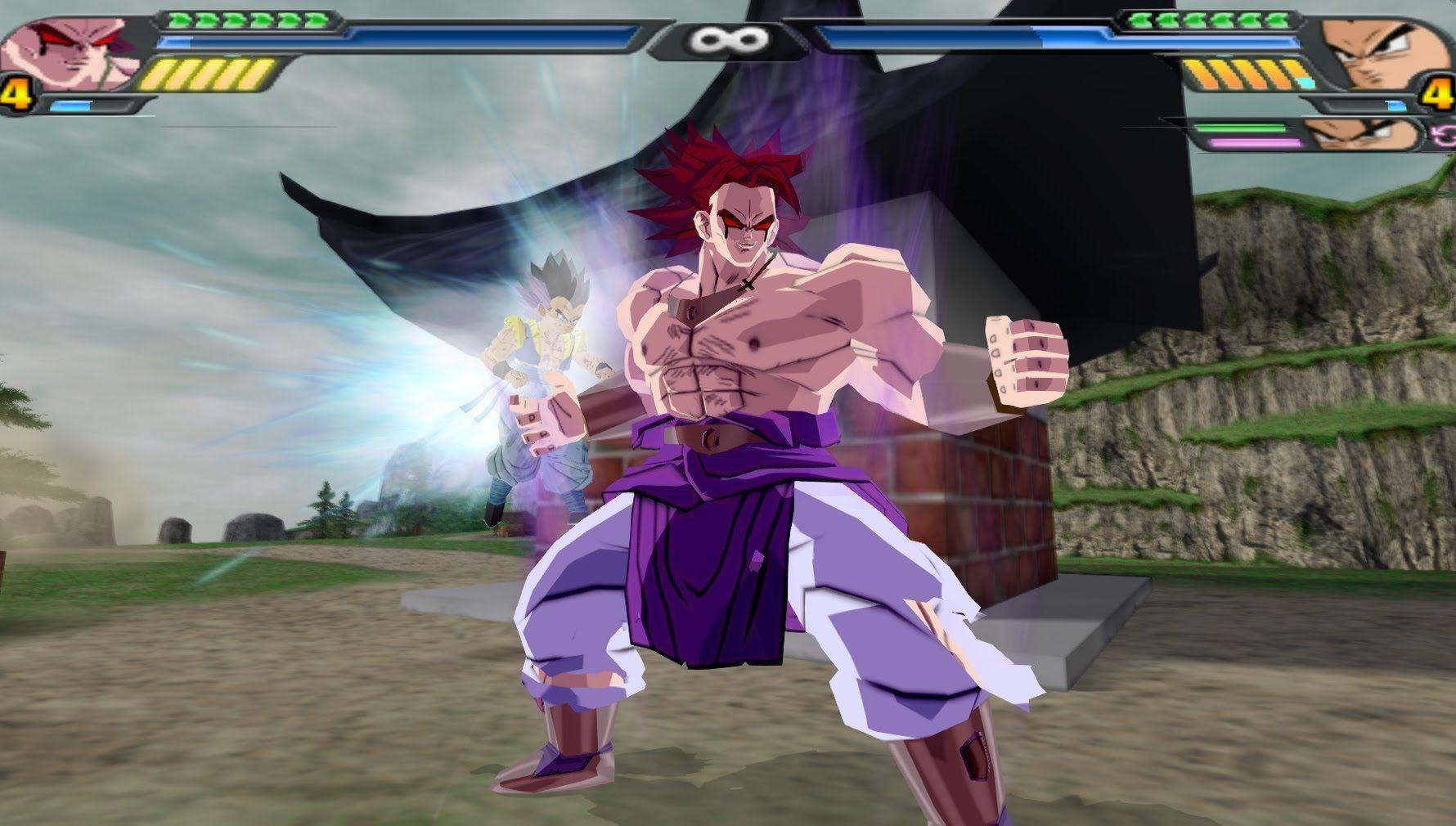 Dark Broly Dragon Ball Z Budokai Tenkaichi 3 Mod