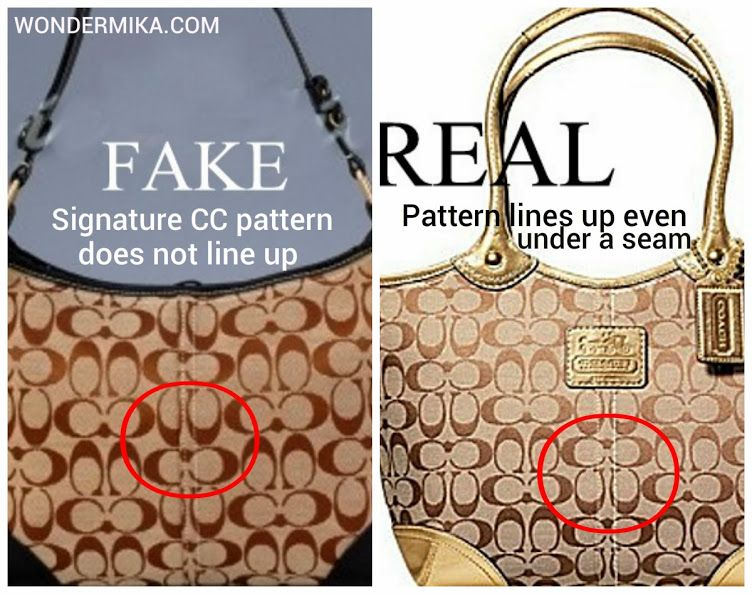 How to spot a fake COACH bag  Pictures and videos here! 2dc1f3dc58975