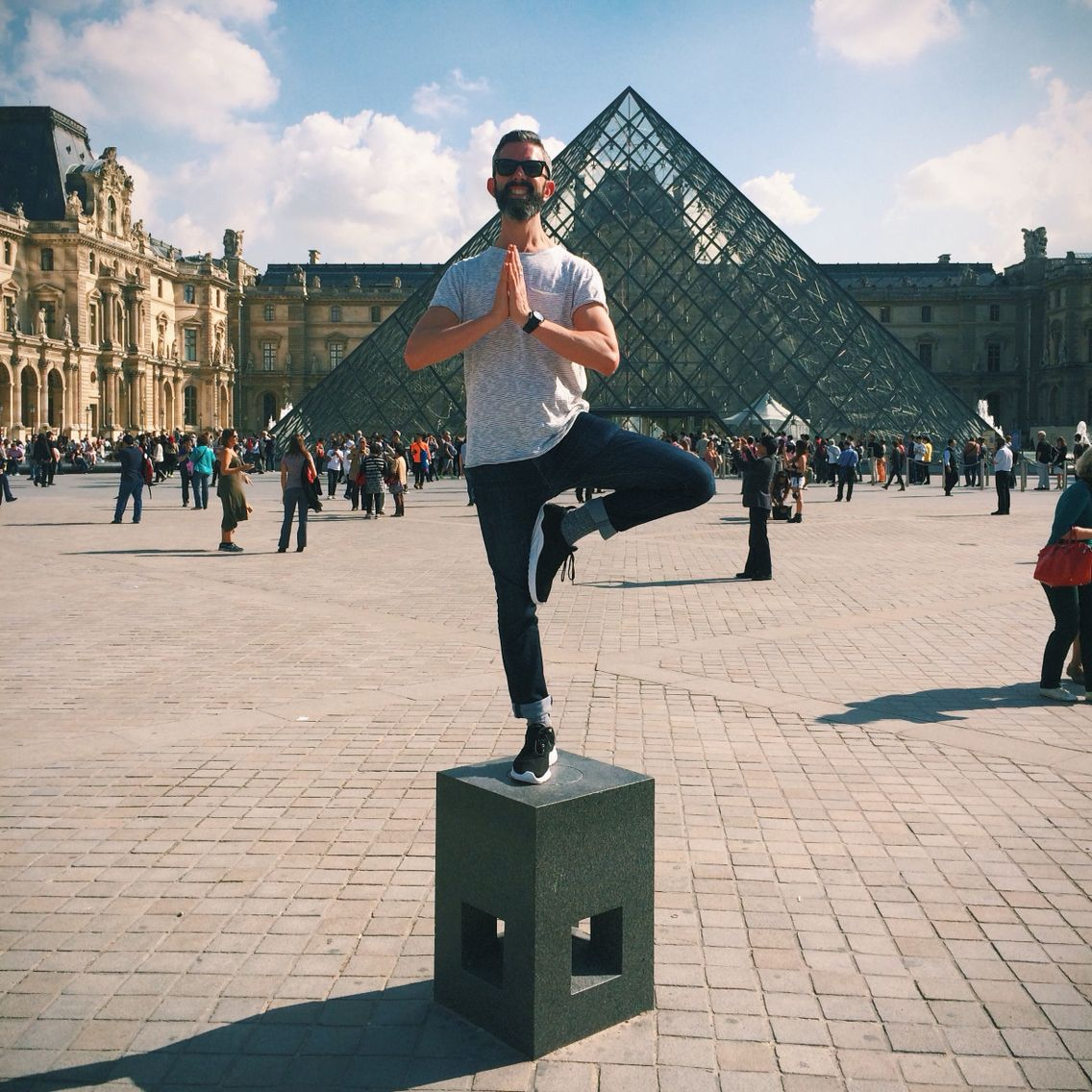 About time your Glomad team showed a little #yoganomad action across the globe. Taking our roaming asana to the streets of #Paris and #tag today as autumn served up the finest of days. Taking a class in a foreign tongue? Definitely a brain alerting experience   #globalyogi #yoga #yogatravel #yogateacher #yogaeverydamnday #yogalife #love #sunshine #happyplace #oui #glomad