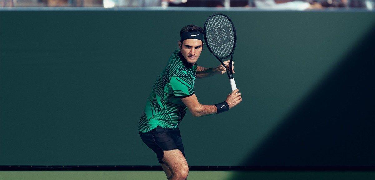 Roger Federer 2017 Indian Wells Nike Outfit Roger Federer Nike Outfits Nike Campaign