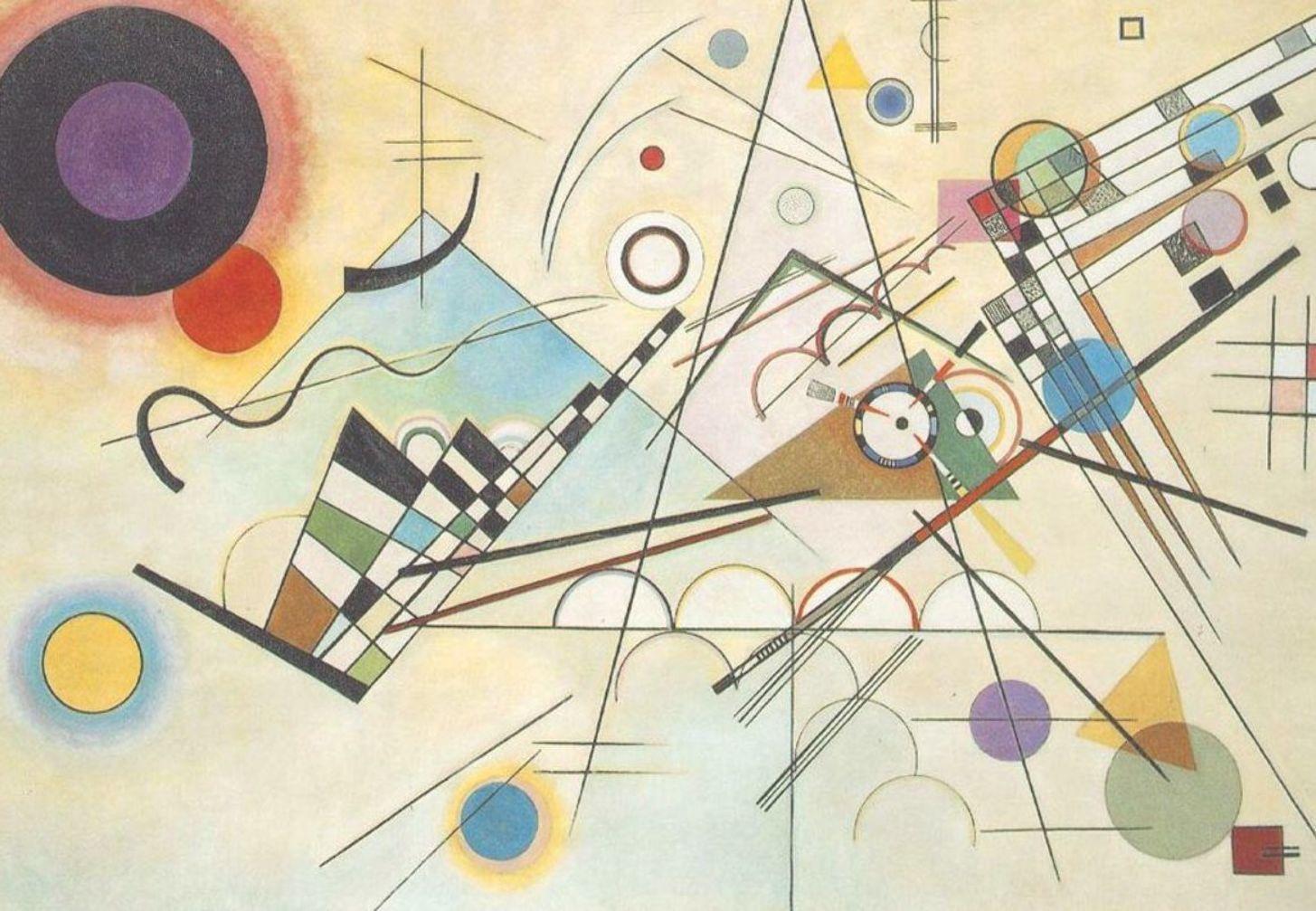 composition viii by wassily kandinsky zeitgenossische abstrakte kunst moderne kunstwerke malerei künstler großformat