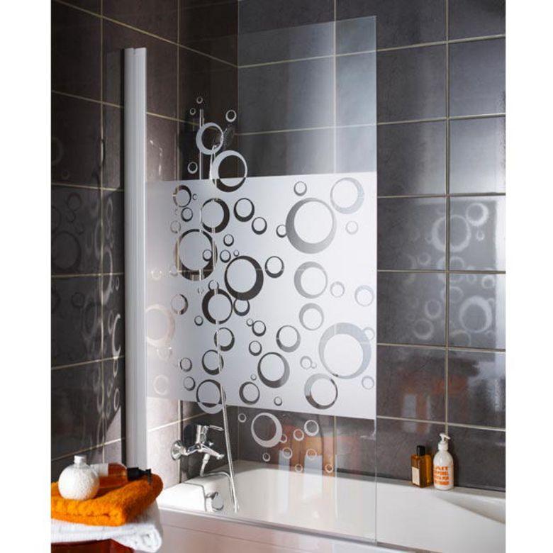 ecran de baignoire bulle salle de