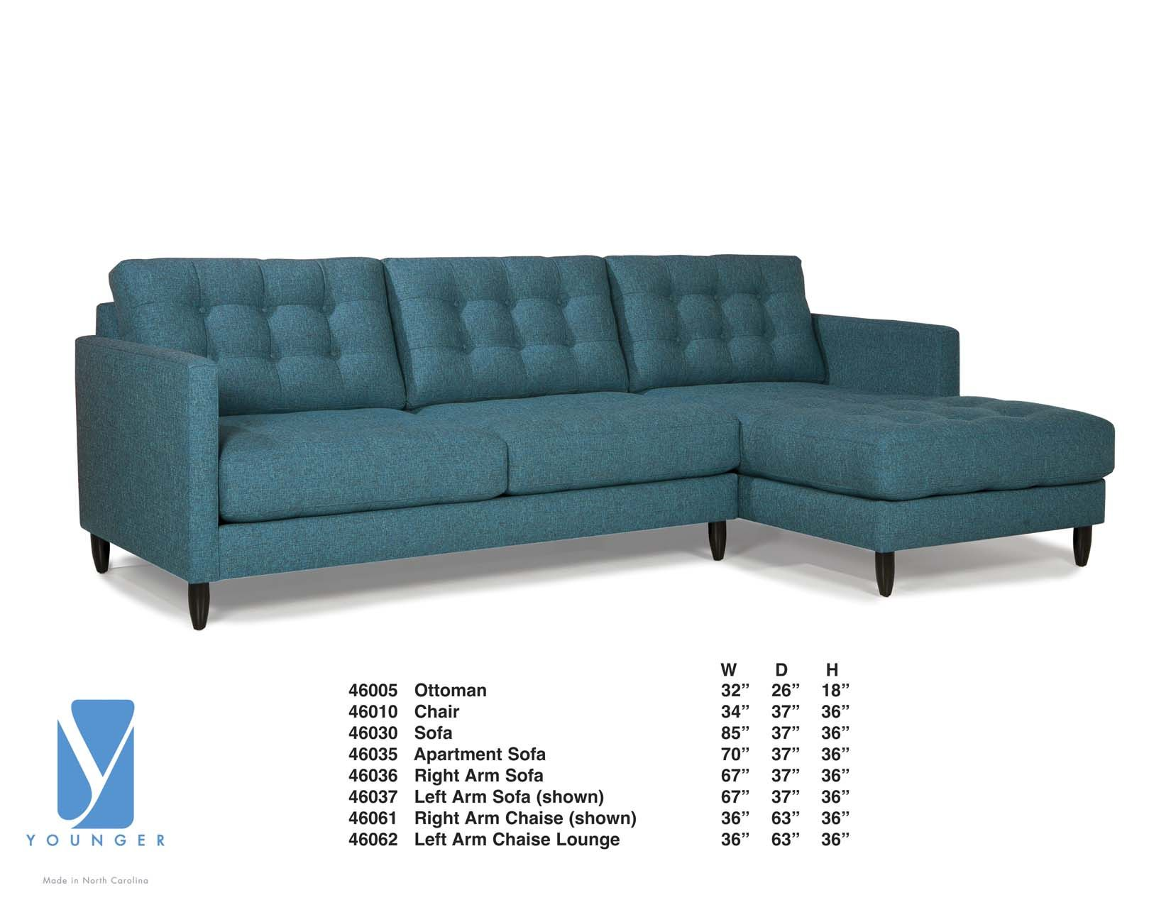 Younger James Sectional Sectional Living Room Sectional Chicago Furniture