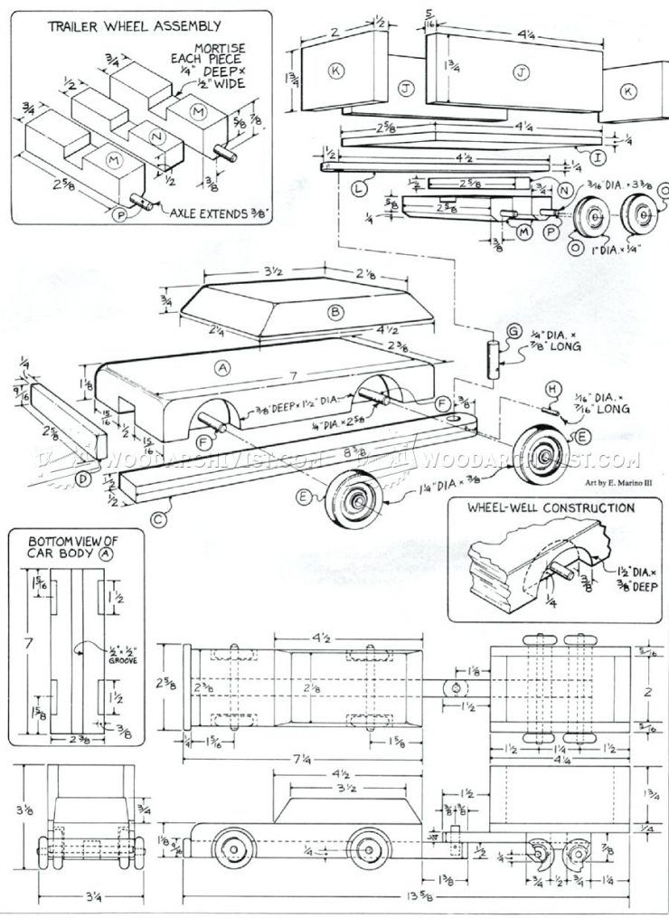 Building a car trailer diagram wiring diagram for light switch best learning toys for 6 month old baby wooden car and trailer plans rh pinterest ca car trailer frame car trailer drawings malvernweather Images