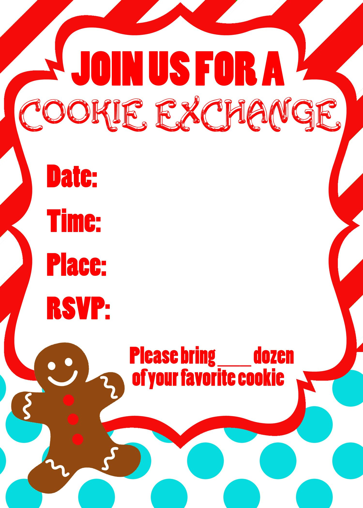 Cookie-Exchange-Invitation.jpg (1500×2100) | Christmas | Pinterest