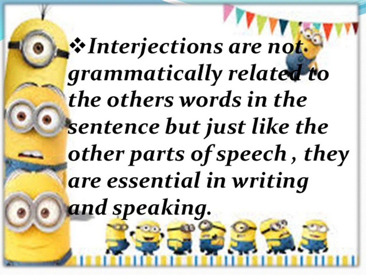 What Are Interjections And How Do You Use Them Eslbuzz Learning English Interjections Learn English English Vocabulary