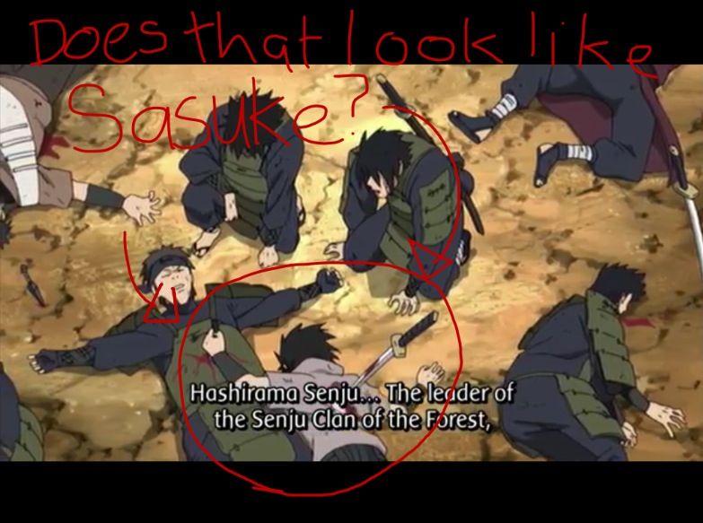 Does that look like sasuke in episode 351 naruto shippuden