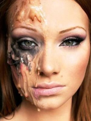 14 Cool Split Personality Halloween Costume And Makeup Ideas To