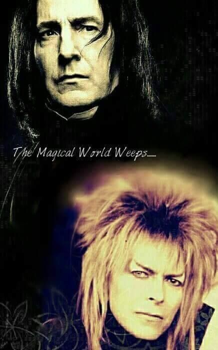 On to the next magical world...  #RIP
