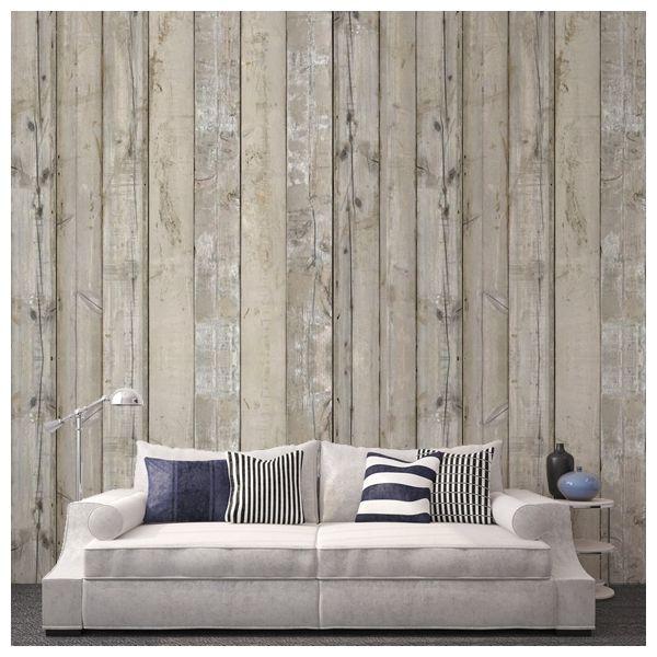 papier peint scrapwood 7 murs de bois de r cup ration pinterest papier peint peindre et. Black Bedroom Furniture Sets. Home Design Ideas
