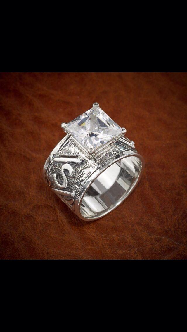Ranchy Oneday Western Wedding Rings Wedding Rings Engagement