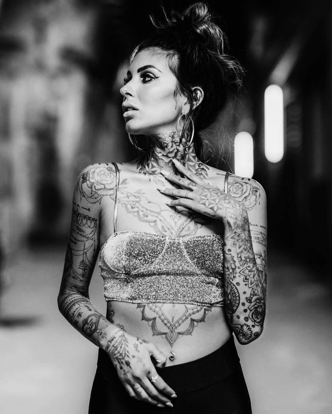 Cool Tattoo Models Dali Tattoo Neck Tattoo