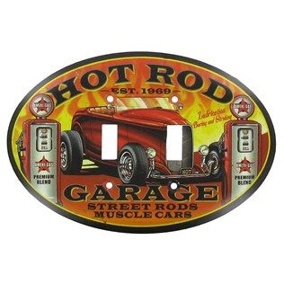 Hot Rod Metal Double Switch Plate Shop Hobby Lobby Hot Rods Old Hot Rods Hot Rods Cars