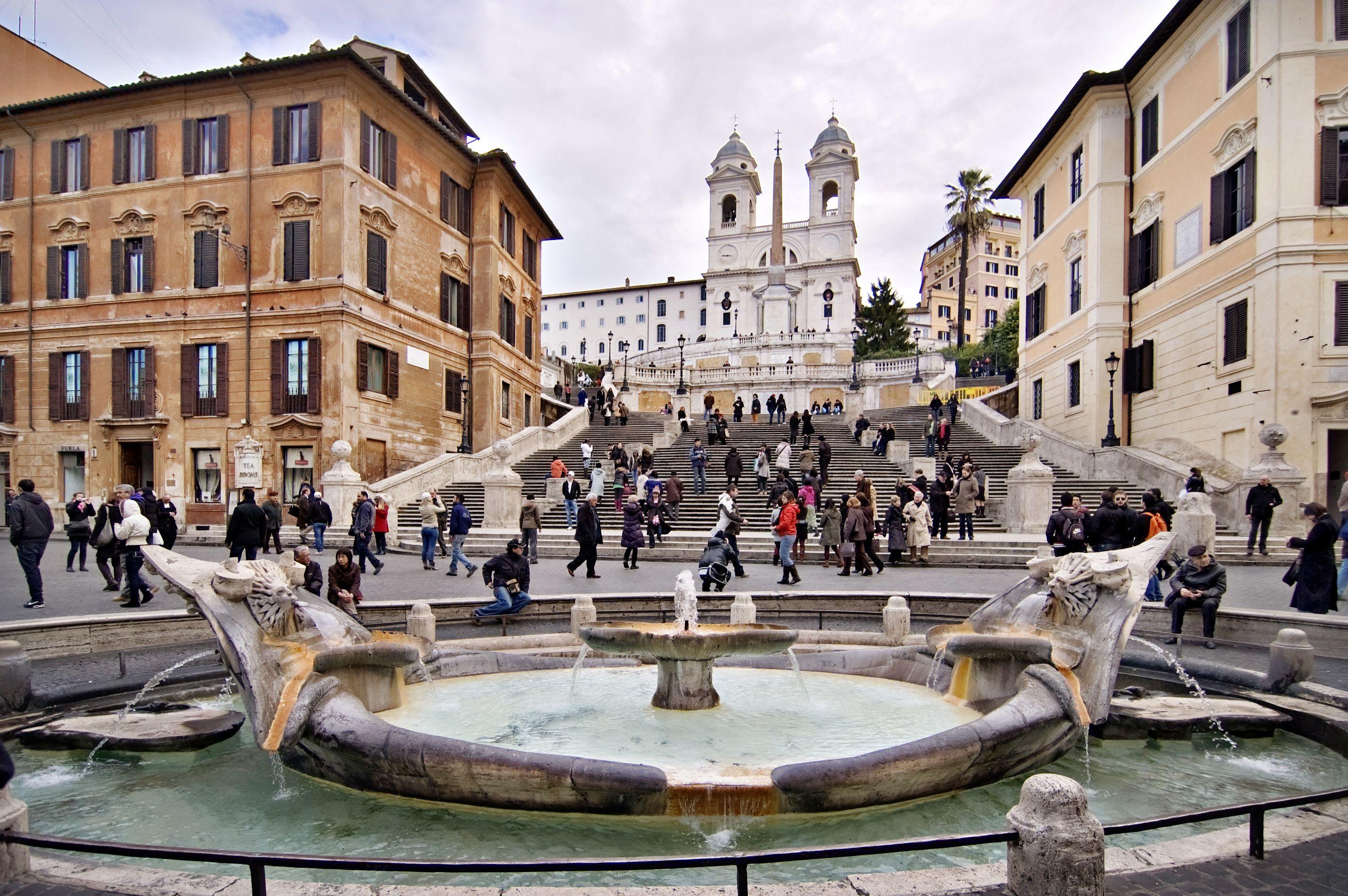 Escadaria Espanhola em Roma