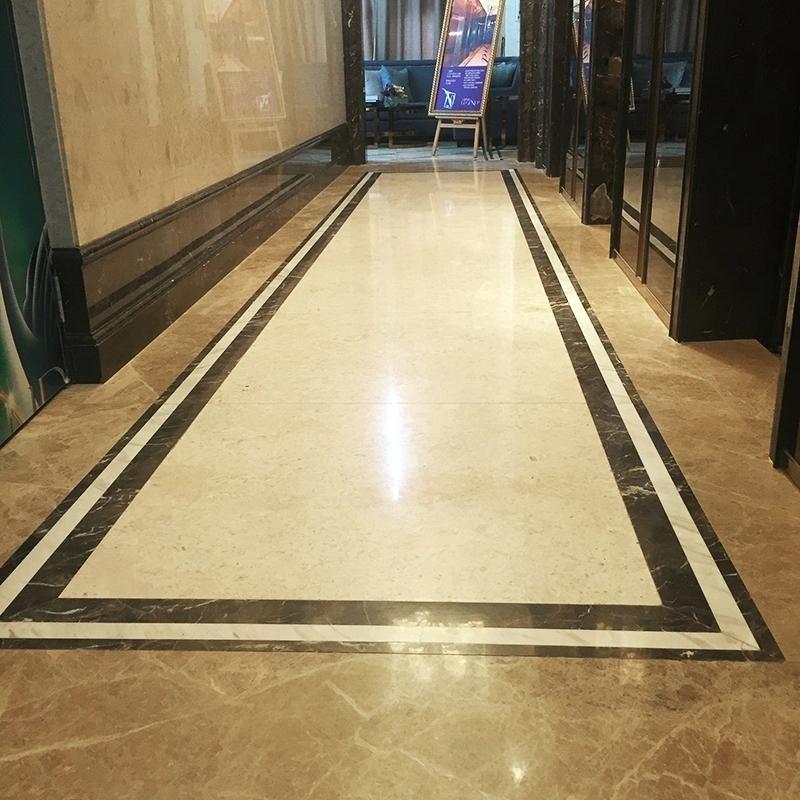 Floor Tiles Border Design Carrera Marble Looking Granite Colour
