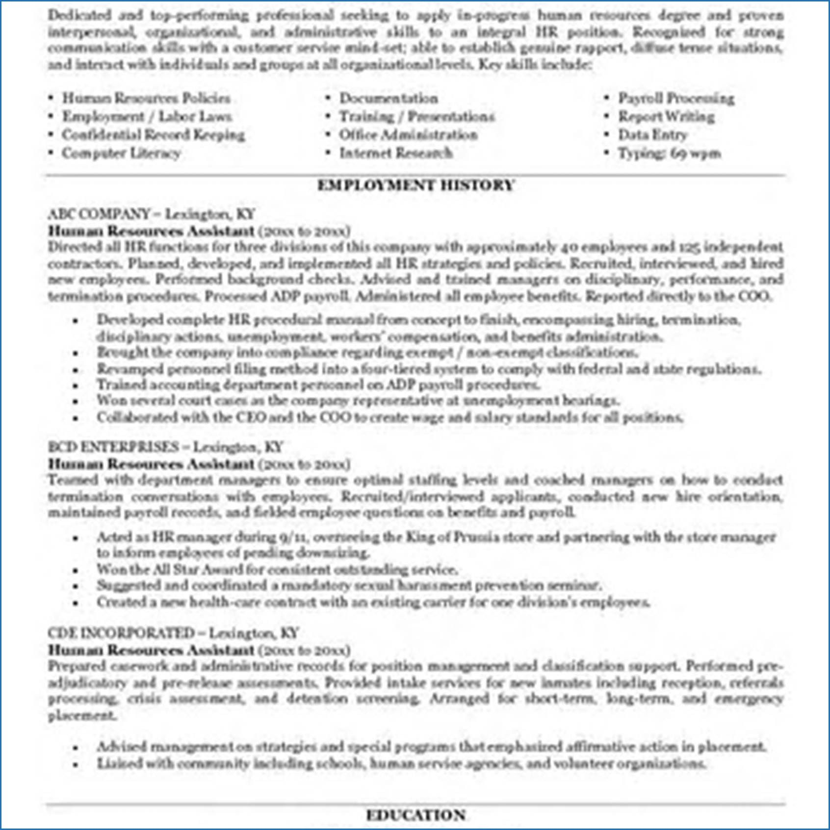 15 resume objective examples for teacher assistants check