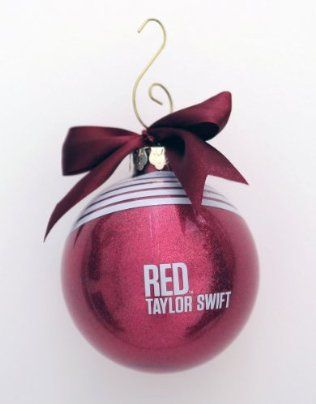 Taylor Swift Red Ball Ornament Christmas I Need This Taylor