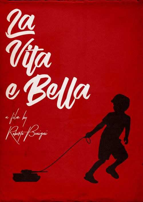 La Vita E Bella Life Is Beautiful 1997 Minimal Movie Poster By Ali Heraize Amusementphile Movie Poster Art Alternative Movie Posters Beautiful Posters