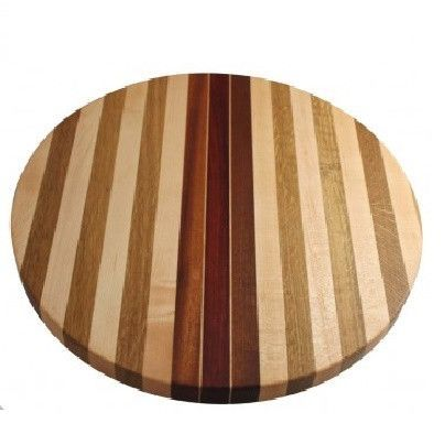 American Made Round Striped Board