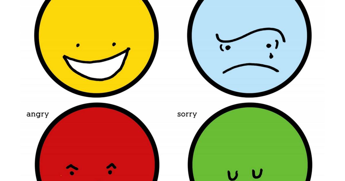 FeelingsFaces.pdf Anger management for kids, Social