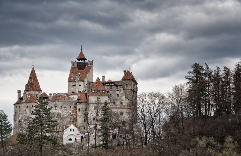 12th-centuryBran Castle in Romania helped inspire Bram Stoker's 1897 novel, Dracula. It draws 560,000 visitors a year.