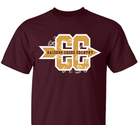 8440d3434d89a High School Impressions search XC-006-W  High School Cross Country T-Shirts-  Create your own design for t-shirts