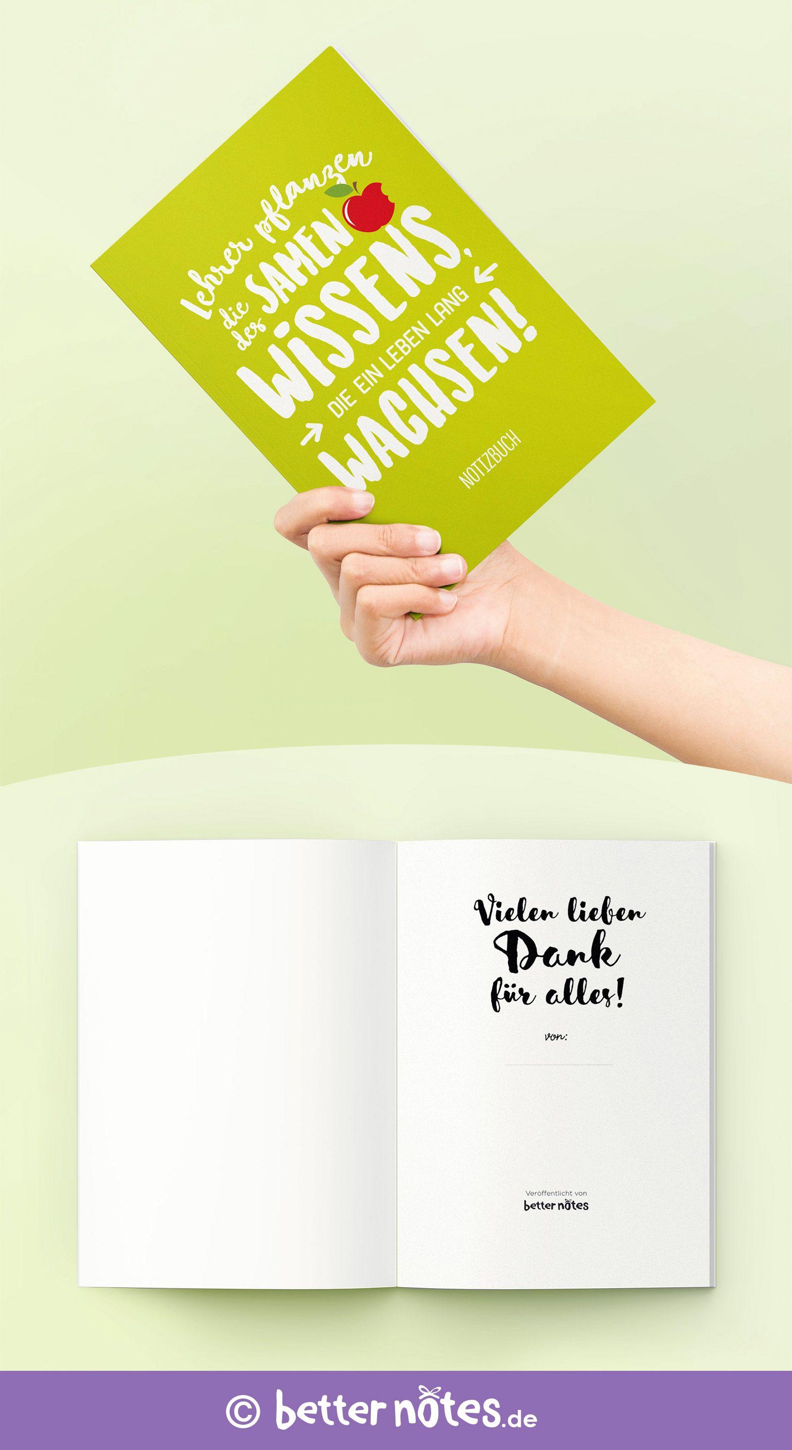 Notizbuch Für Lehrer Geschenke Abschiedsgeschenk Für