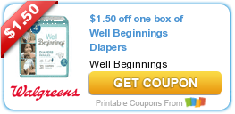 Tri Cities On A Dime Walgreens Coupon 1 50 Coupon On Well Beginnings With Images Walgreens Couponing Coupon Blogs Coupons