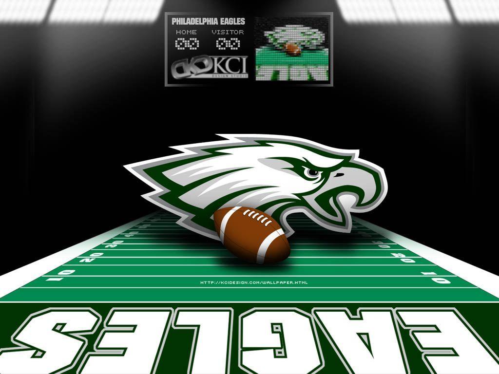 Philadelphia Eagles Wallpaper // bird should be facing the