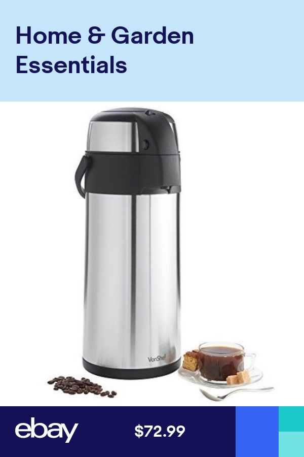 5L Coffee Dispenser Airpot Thermos Thermal Hot Cold