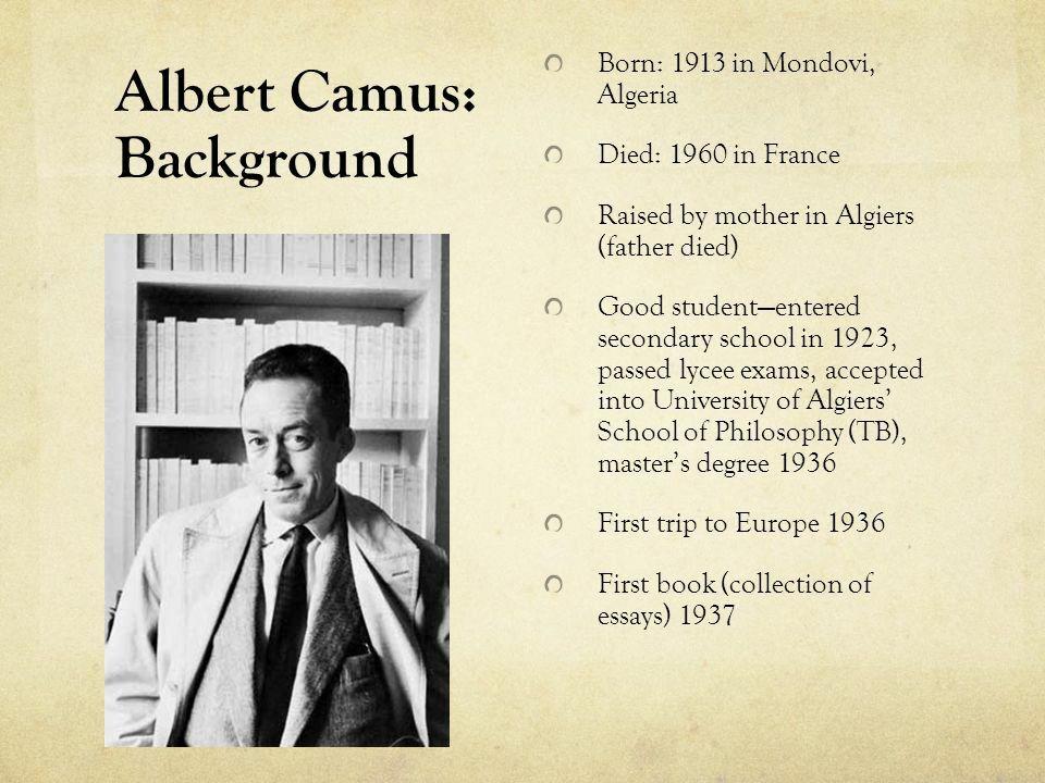 Pin By Kr S Bo On Camu Le Prem Er Homme School Of Philosophy Essay Albert Camus The Stranger
