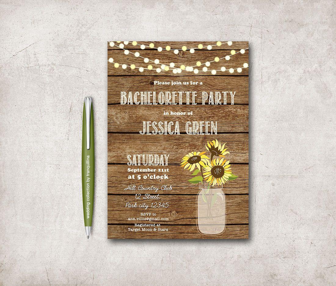 Bachelorette Invitation Printable, Bachelorette Party Invitation ...