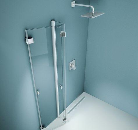 Artweger 360 2 Teilige Falttur Dusche Eckeinbau Nach Aussen