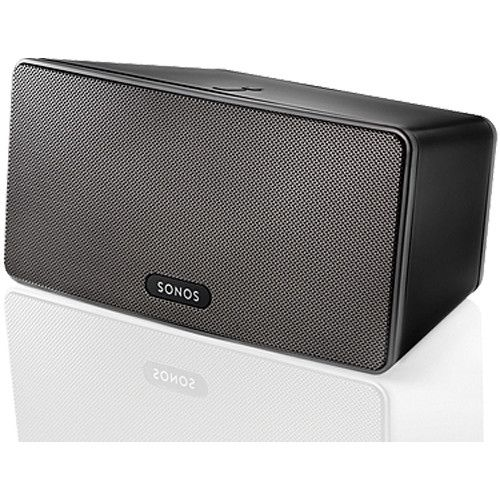 Sonos Play 3 Wireless Speaker Black Play3 B B H Photo Video