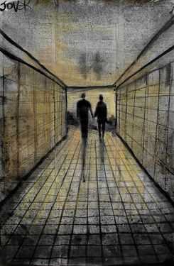 Saatchi Online Artist Loui Jover; Drawing, tunnel life #art