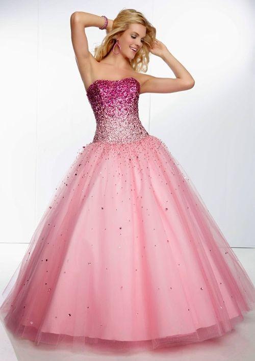 vestido de moda | Vestidos | Pinterest | Dream dress, Pink dresses ...