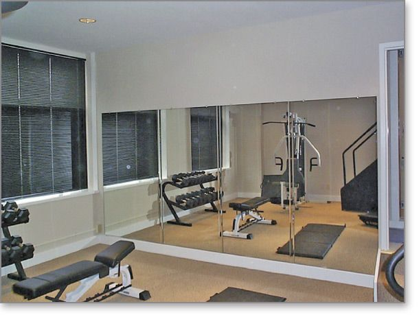 Home Gym Mirror Fully Mirrored Wall Workout Room Home Home