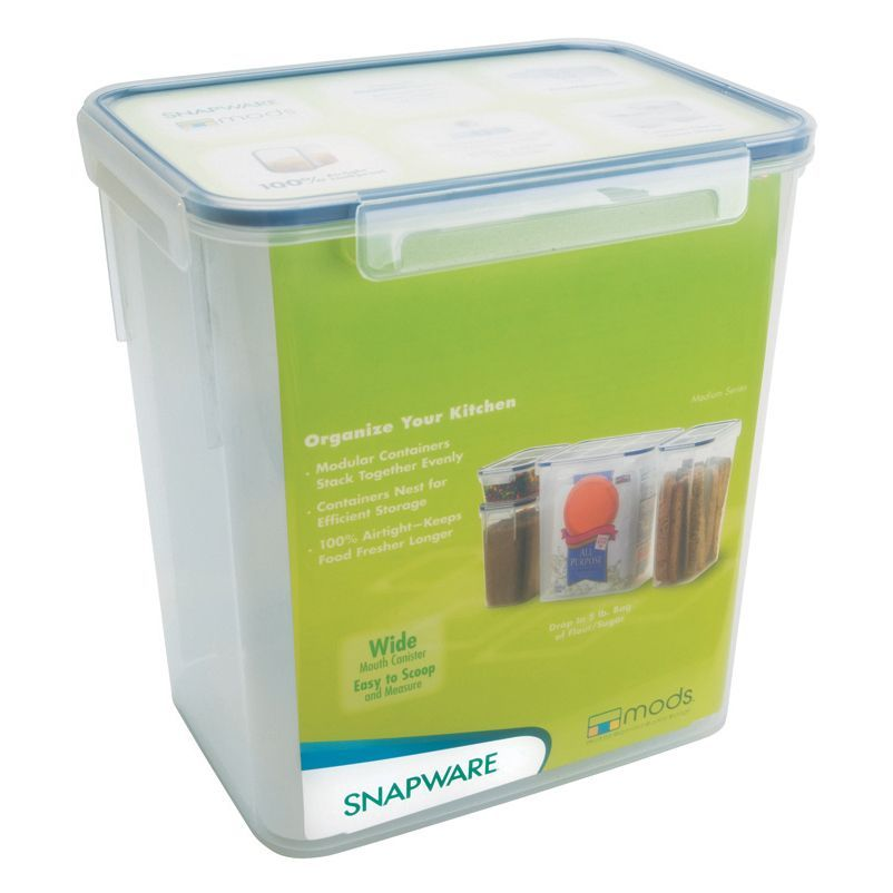 Snapware 1098423 23 Cup Medium Rectangle Storage Container Containr