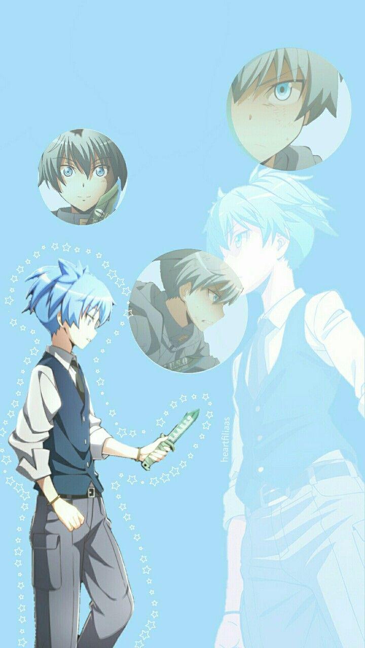 Anime Lockscreen Tumblr Anime Nagisa And Karma Art