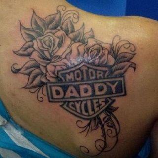 Dad Tattoo Tattoo Ideas Harley Davidson Tattoos Dad Tattoos Harley Tattoos For Dad Memorial Dad Tattoos Tattoos For Daughters