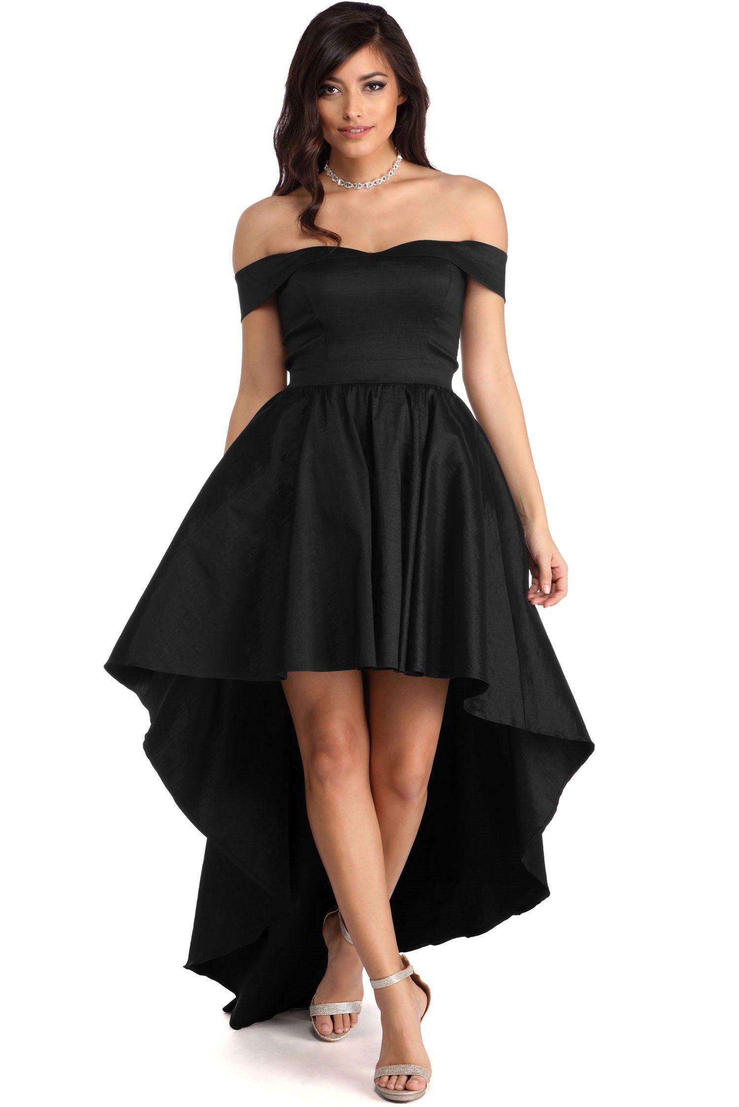 f7ce01f03105 Ora Black Taffeta Gown in 2019 | Prom/ homecoming dresses | Dresses ...