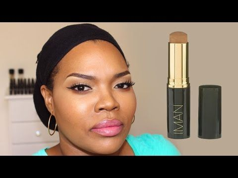 REVUE Fond de Teint stick IMAN Cosmetics - YouTube