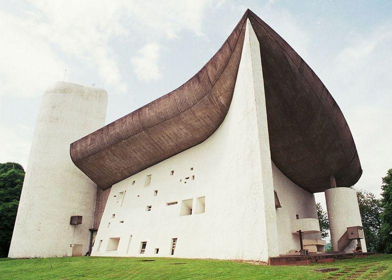 Le Corbusier S Notre Dame Du Haut Chapel At Ronchamp Landscape Architecture Design Le Corbusier Famous Architecture