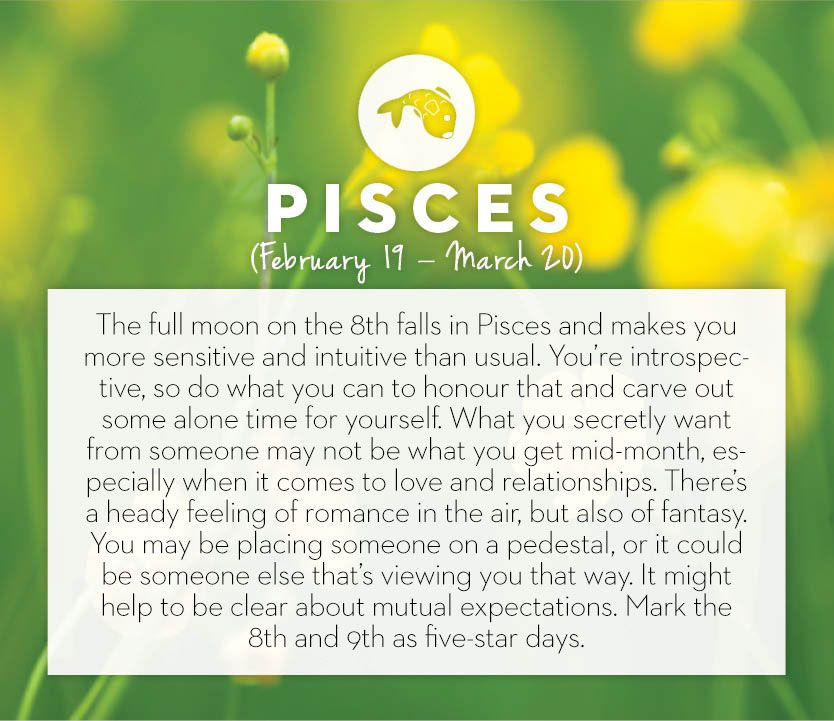 September 2014 horoscopes - Pisces