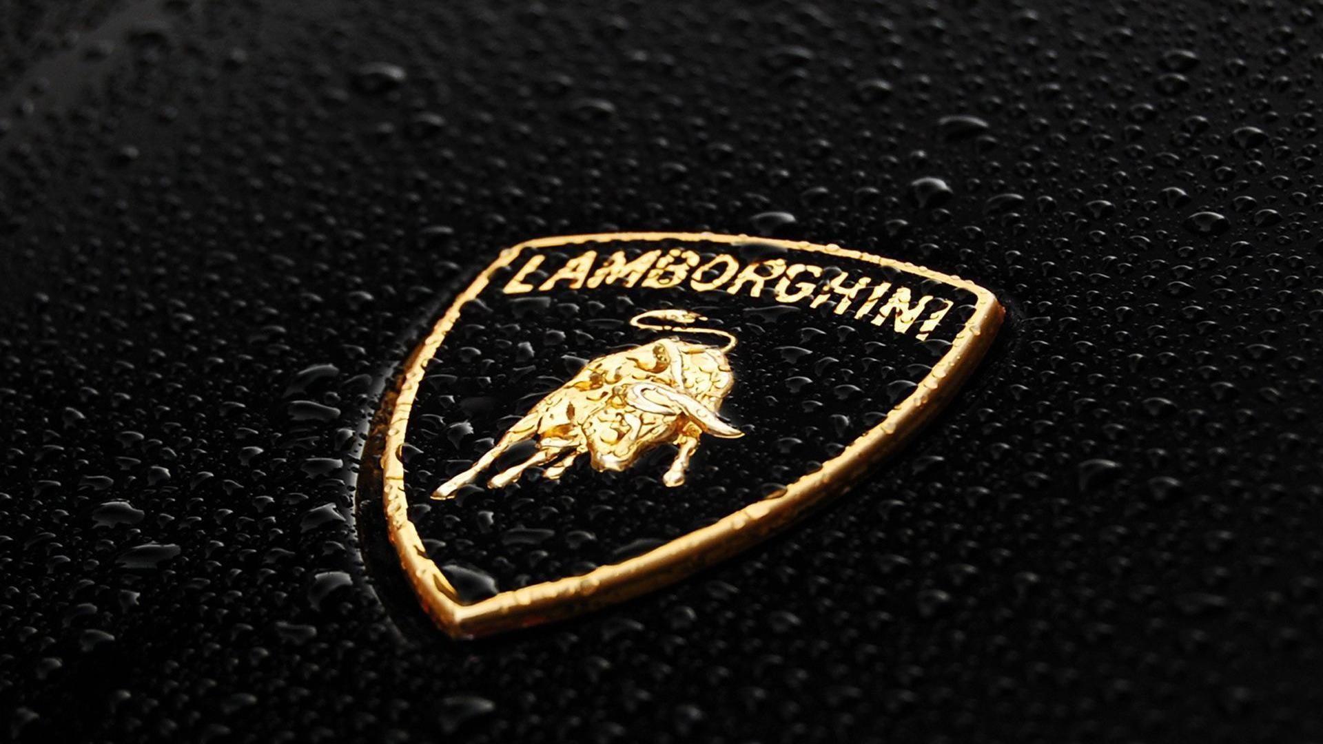 Lamborghini Car Company Logo Hd Wallpaper Lamborghini Logo