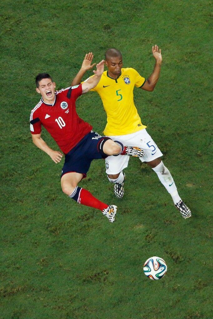 James Rodríguez - Brasil derrotó a Colombia por 2 a 1 este viernes ...