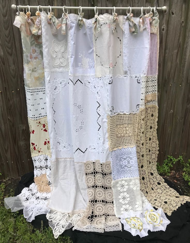Recycled materials for kitchen window curtain – 20