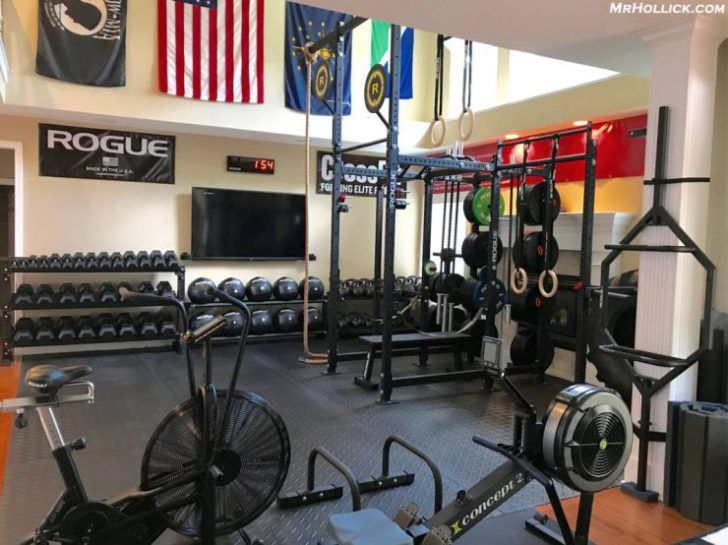 10 ridiculous home gym setups home gyms at home gym garage gym