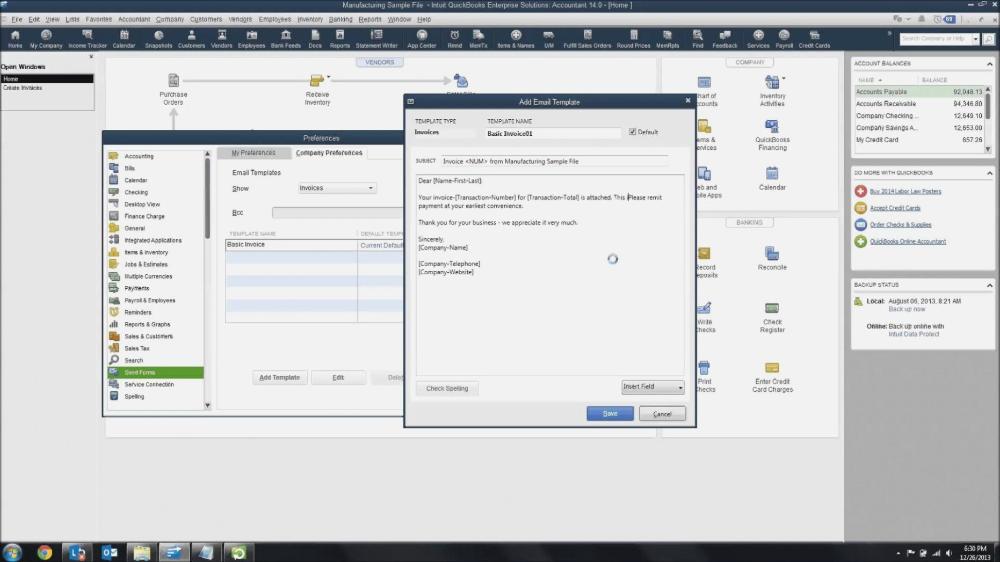 How To Change Invoice Template In Quickbooks Best Template Collection In 2020 Invoice Template Create Invoice Quickbooks