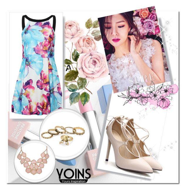 """YOINS  59"" by emily-5555 ❤ liked on Polyvore featuring Sephora Collection, Karlsson and yoins"